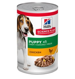 Hill's Science Plan Puppy Wet Food Can, Chicken, 370g