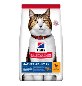 Hill's Science Plan Mature Adult 7+ Cat Dry Food, Chicken