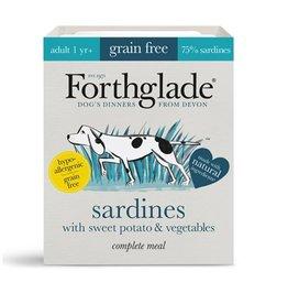 Forthglade Complete Grain Free Sardines, Sweet Potato & Vegetables Adult Wet Dog Food, 395g