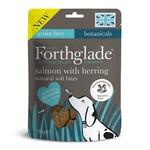 Forthglade Natural Soft Bites Salmon with Herring Dog Treats, 90g