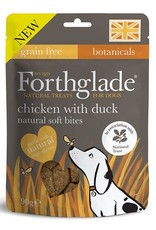 Forthglade Natural Soft Bites Chicken with Duck Dog Treats, 90g