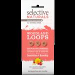 Supreme Selective Naturals Woodland Loops Small Animal Treats, 80g