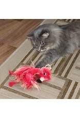 KONG Cat Softies Frizz Bird Catnip Toy, Mixed Colours