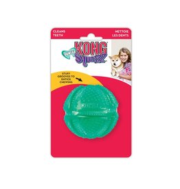 KONG Squeezz Dental Ball Dog Toy, Medium