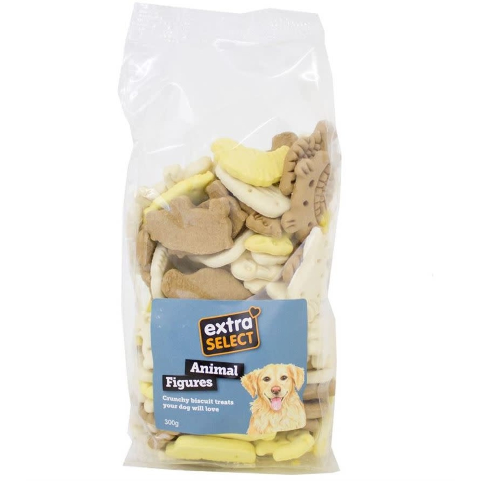 Extra Select Animal Figure Dog Biscuit Treats 300g