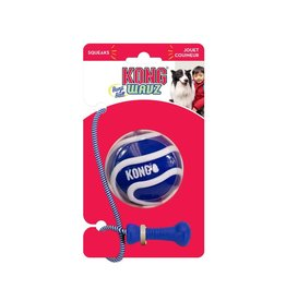 KONG Bunjiball Retrieval Dog Toy, Medium