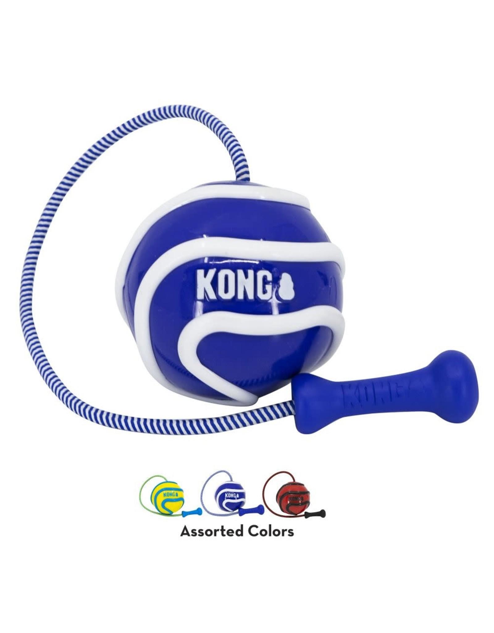 KONG Bunjiball Retrieval Dog Toy, Medium
