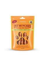 Pet Munchies Chicken Sticks with Carrot 100% Natural Dog Treats, 80g