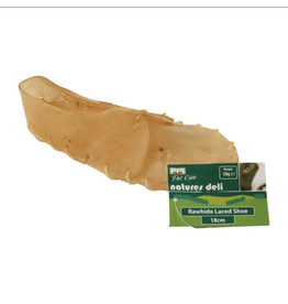 PPI Rawhide Shoe Dog Chew, 7inch/18cm