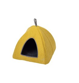 Gor Pets Camden Pyramid Cat Bed 40x40x40cm in Mustard