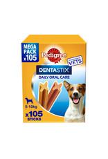 Pedigree Dentastix Daily Adult 1+ Dental Dog Chews, 105 Stick  Small Dog 5-10kg