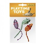 Rattle Mice Cat Toy, 3 pack