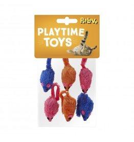Felt Catnip Mice Cat Toy, 6 pack