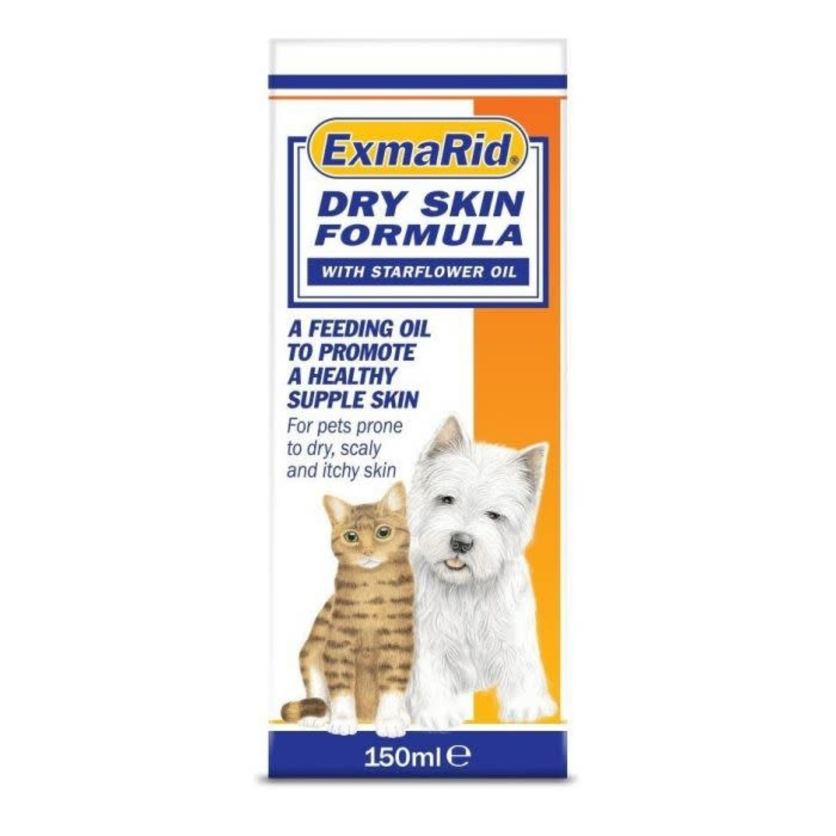 Exmarid Dry Skin Supplement for Cats & Dogs 150ml