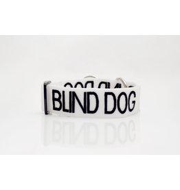 "Friendly Dog Collars ""Blind Dog"" Snap Dog Collar *CLEARANCE"
