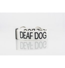 "Friendly Dog Collars ""Deaf Dog"" Snap Dog Collar *CLEARANCE"