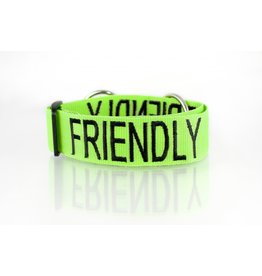 "Friendly Dog Collars ""Friendly"" Snap Dog Collar *CLEARANCE"