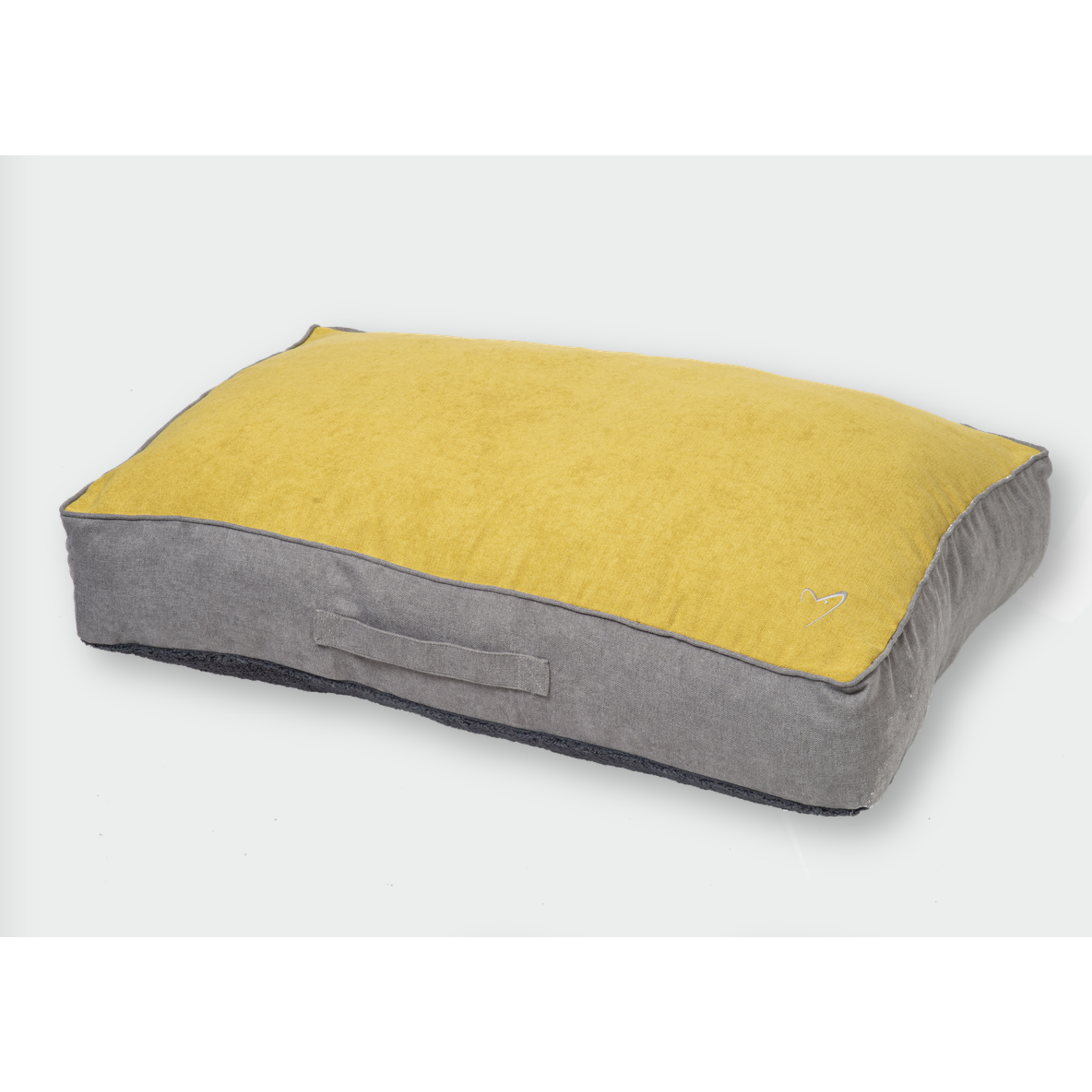 Gor Pets Camden Sleeper Dog Bed with Removable Cover, Mustard Yellow