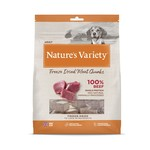 natures menu Nature's Variety Dog Food Freeze-Dried Meat Chunks Beef, 200g