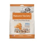 natures menu Nature's Variety Dog Food Freeze-Dried Meat Chunks Salmon, 200g