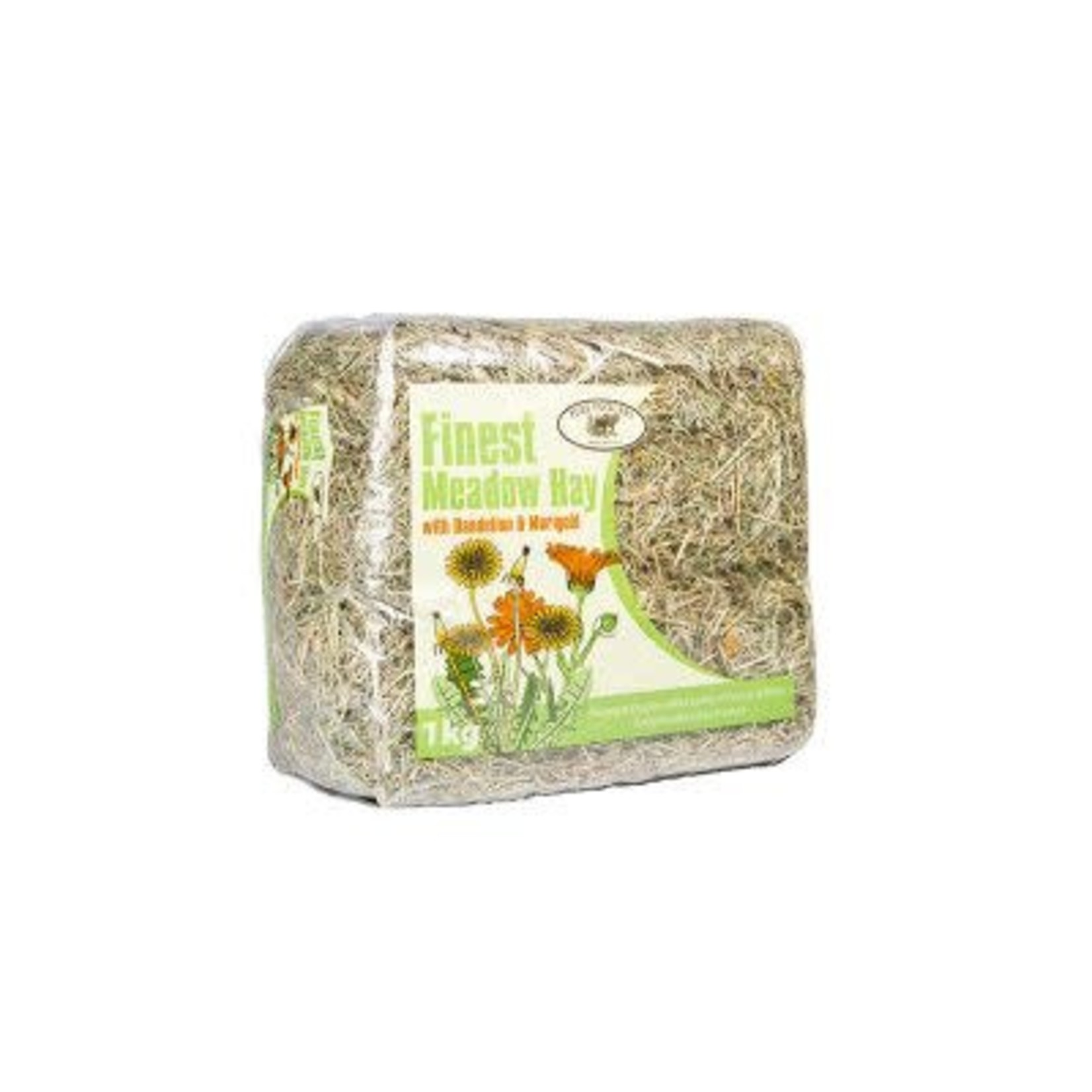 Pure Pastures Finest Meadow Hay with Dandelion & Marigold 1kg
