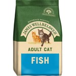 James Wellbeloved Adult Cat Dry Food, Fish & Rice