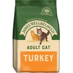 James Wellbeloved Adult Cat Dry Food, Turkey & Rice