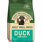 James Wellbeloved Adult Small Breed Dog Dry Food, Duck & Rice