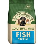 James Wellbeloved Adult Small Breed Dog Dry Food, Fish & Rice