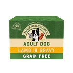 James Wellbeloved Grain Free Adult Dog Wet Food Pouch Lamb, 100g, Box of 12