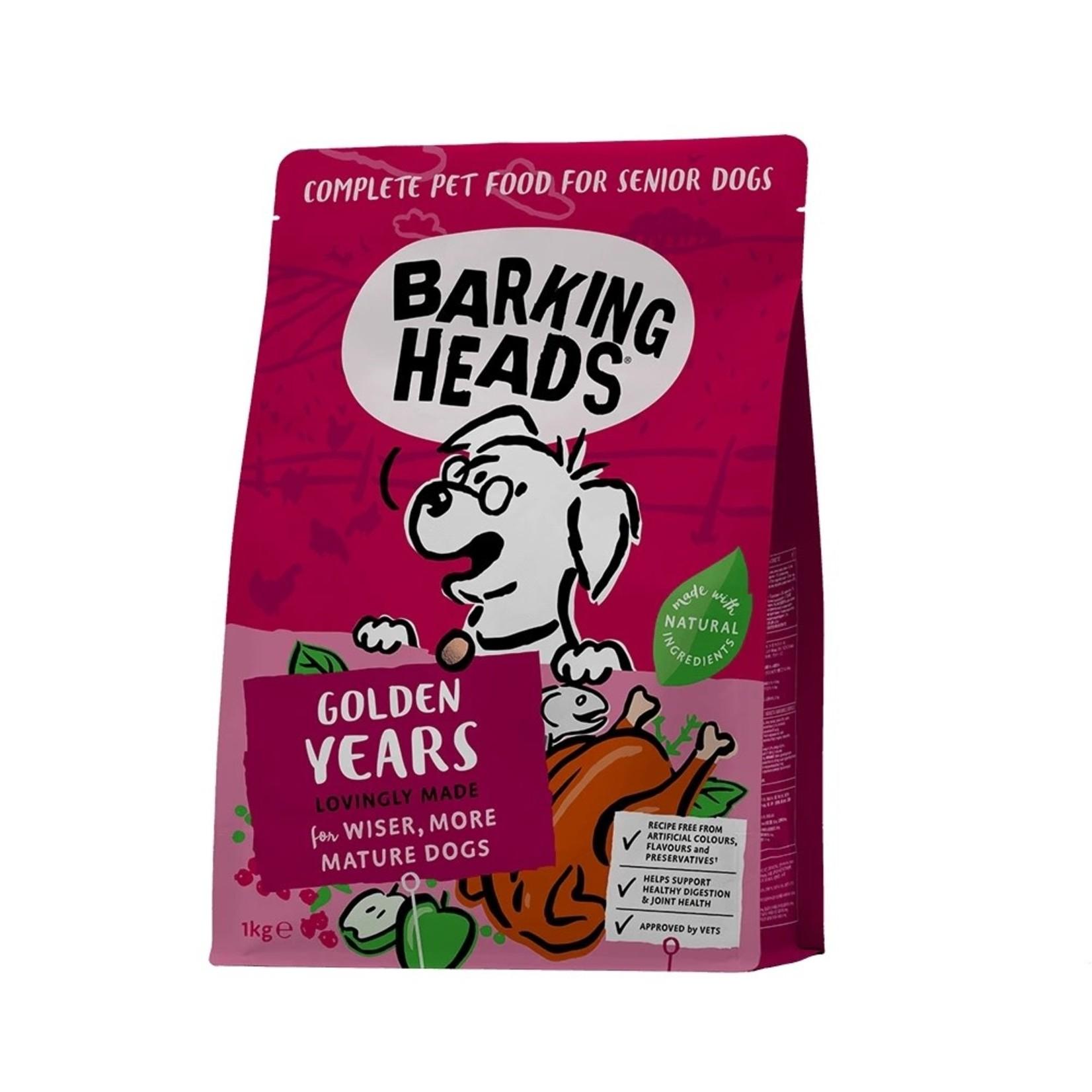 Barking Heads Golden Years Senior Dry Dog Food, Chicken & Salmon
