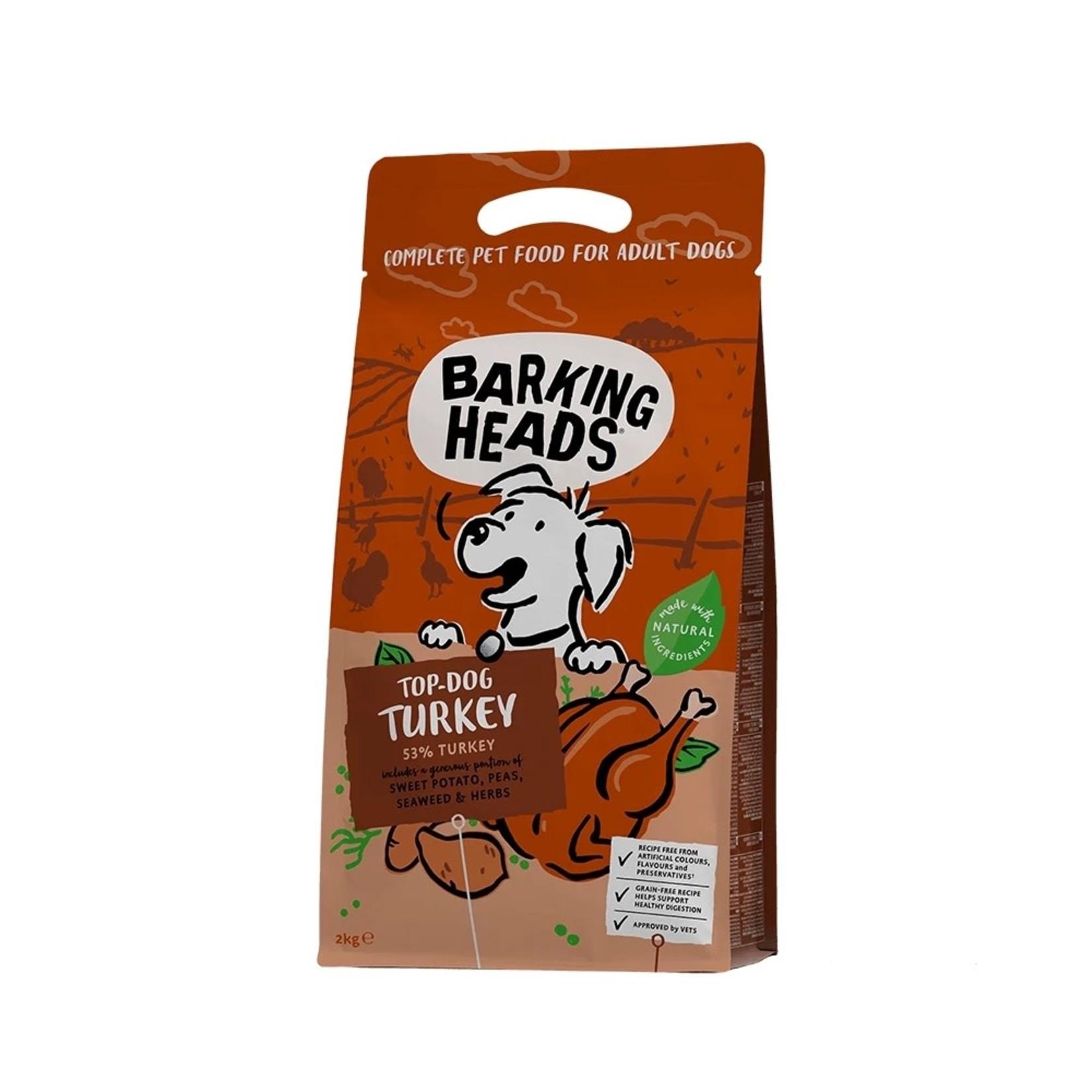 Barking Heads Top Dog Turkey Grain Free Adult Dog Dry Food