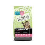 Burns Cat Free From Dry Food, Duck & Potato, 2kg