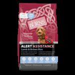 Burns Alert Adult & Senior Assistance Working Dog Food, Lamb, 2kg