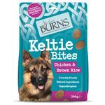 Burns Keltie Bites Chicken & Brown Rice Dog Treats, 200g