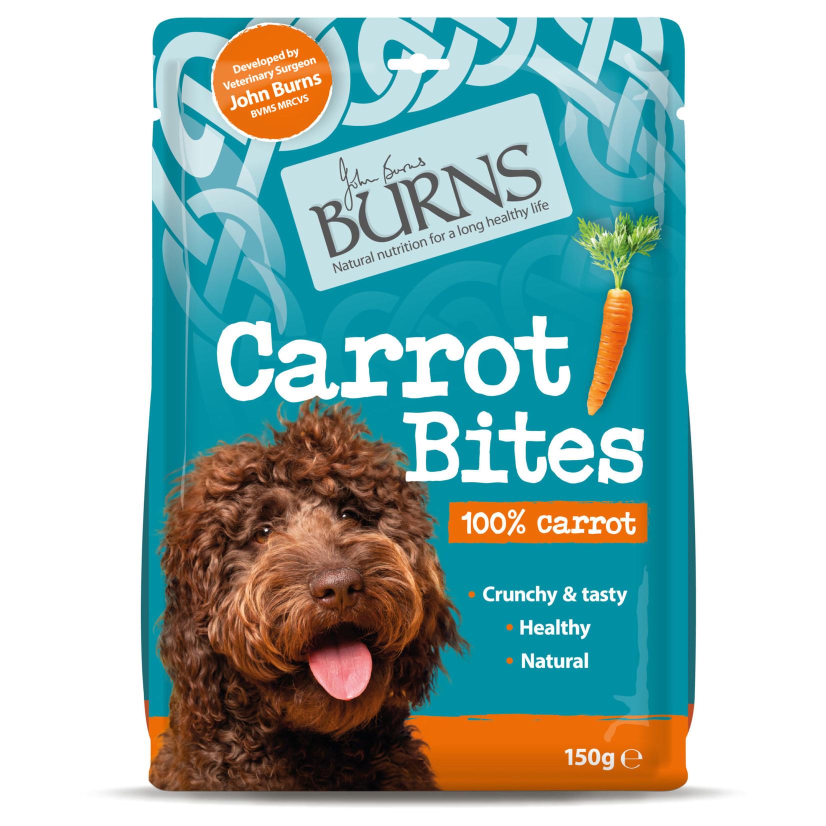 Burns Carrot Bites Natural Dog Treats, 150g