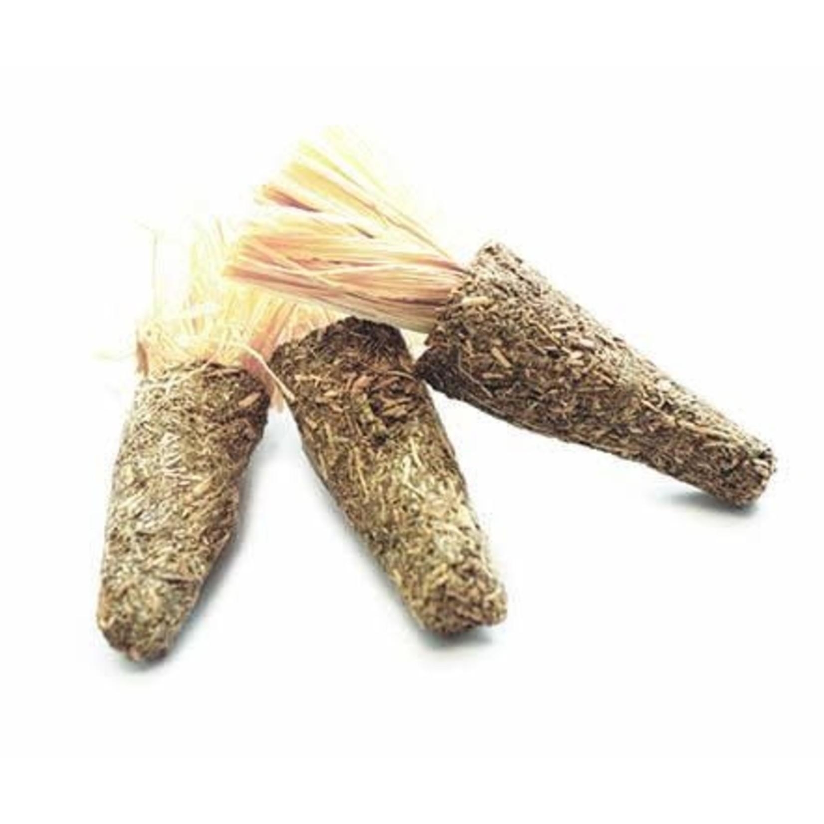 Happy Pet Alfalfa Mini Carrot Small Animal Treats, 3 pack
