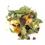 Borders Complete Small Animal Mix Strawberry Candy - strawberry leaves, organic slices of strawberry, banana, rose flowers, marigoldi, carrot, apple chips 70g