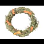 Borders Small Animal Hay & Carrot Wreath, 50g