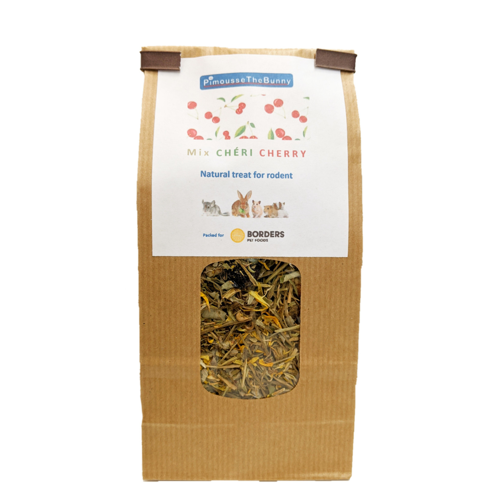 Borders Complete Small Animal Mix Chéri Cherry - organic cherries, cranberry, raspberry leaves, parsley, marigold 70g