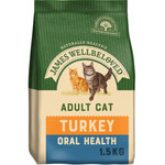 James Wellbeloved Oral Care Cat Dry Food, Turkey & Rice