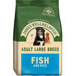James Wellbeloved Adult Large Breed Dog Dry Food, Fish & Rice