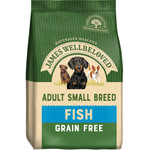 James Wellbeloved Grain Free Small Breed Adult Dog Dry Food, Fish & Vegetable, 1.5kg