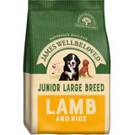 James Wellbeloved Junior Large Breed Dog Dry Food, Lamb & Rice