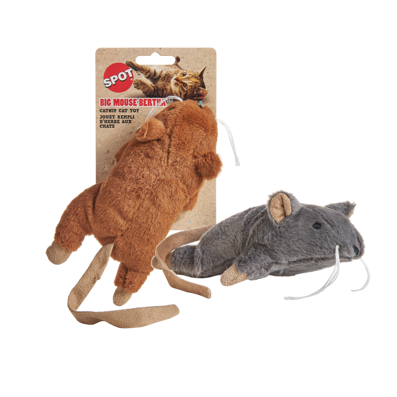 sharples Big Mouse Bertha Large Catnip Cat Toy