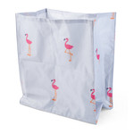 Zöon Floating Flamingo Crinkle Cat Bag, 30 x 34 x 17cm