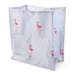 Zoon Floating Flamingo Crinkle Cat Bag, 30 x 34 x 17cm