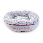 Zöon Hoglets Dreaming Doughnut Cat Bed, 45 x 45 x 12cm