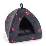 Zöon Ladybug Cat Igloo Bed, 40 x 40 x 35cm