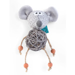 Zöon Nip-it Catnip Bell Mouse Cat Toy